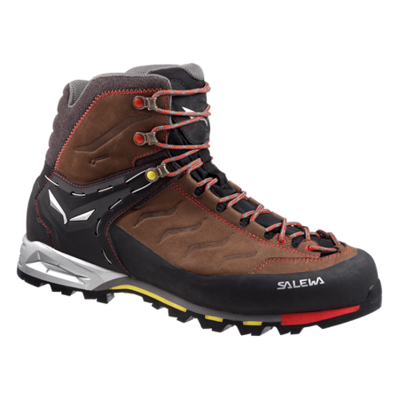 Buty Salewa MS MTN TRAINER MID GTX brown/yellow