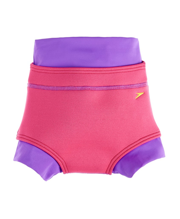 Kąpielówki na pieluchę Speedo Infant Girls' Swimnappy Cover - 8696/Pink