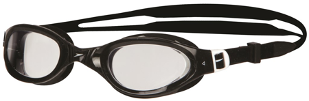 Okulary pływackie Speedo Futura Plus Goggle - black/clear