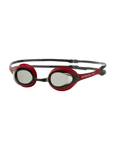 Okulary pływackie Speedo Merit 0910/Red/Smoke