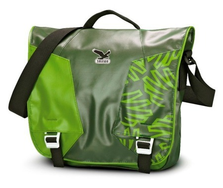 Salewa SPIKE MESSENGER torba dark green/green