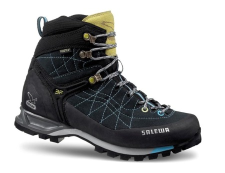 Salewa WS MTN TRAINER MID GTX carbon/turquise/0785