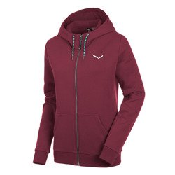 Bluza Salewa SOLIDLOGO 2 CO W FZ HDY - 1880/tawny port