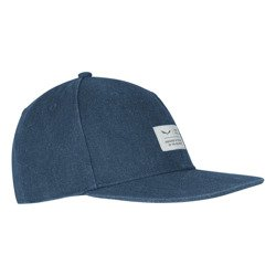 Czapka Salewa PUEZ CANVAS FLAT CAP - 8670/dark denim