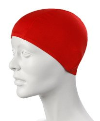 Czepek pływacki Speedo Polyester Cap Junior - Red