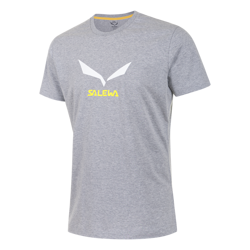 Koszulka Salewa SOLIDLOGO 2 CO M S/S TEE - 0620/grey melange